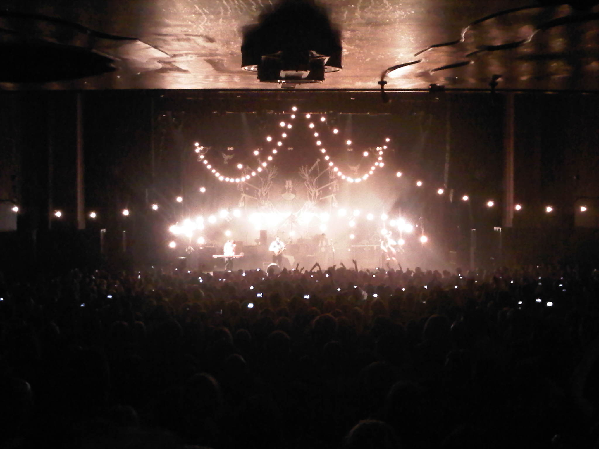 Festoon for days! Mumford & Sons