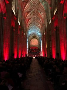 Architectural Cathedral Lighting for any event