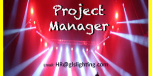 Lighting Project Manager? get in touch!